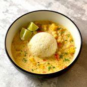 Curry z dynią i ciecierzycą